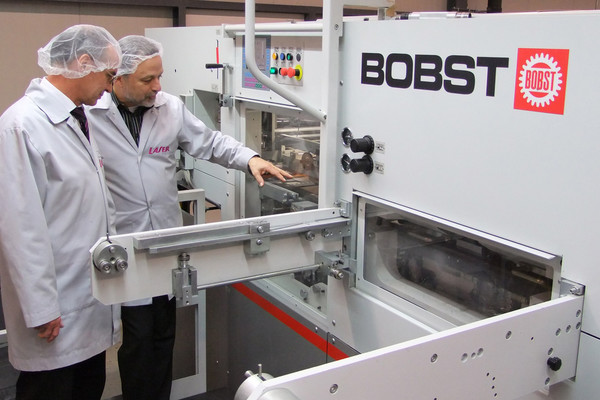 New Bobst Diecutting Machine At Marbach Asia Pacific THE PACKMAN
