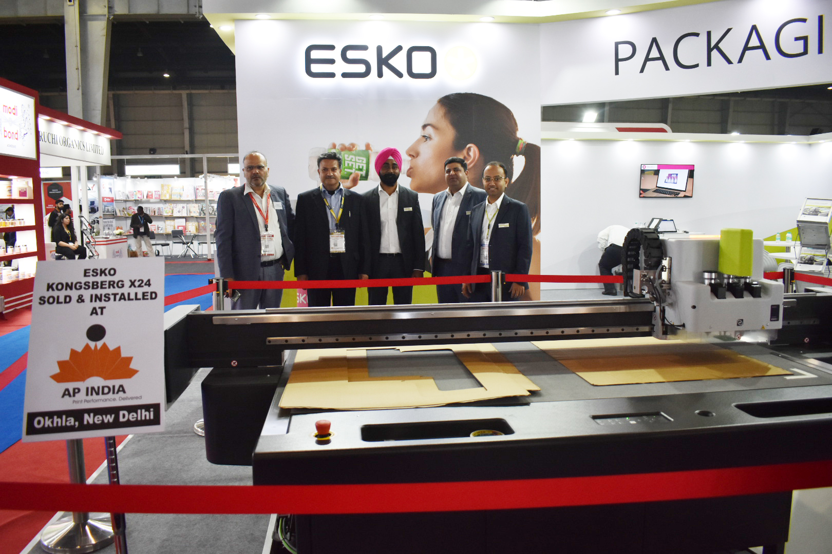 Esko announces sale of Kongsberg and Artios CAD at PrintPack India