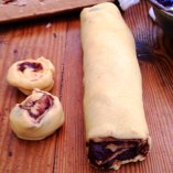 Chocolate Krantz Cake - Rolled