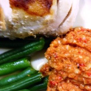 Romesco Salsa Fast Day Meal Idea