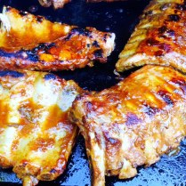 Barbeque Pork Baby Rack Ribs