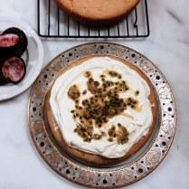 Yoghurt Sponge Cake Filled