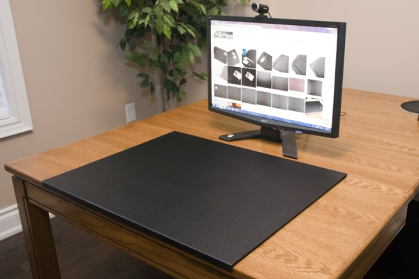 """desk chair protector stool size pad with ½"""" edge – pads the place   custom"""