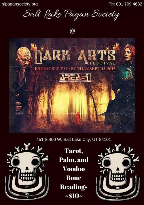 SLPS Dark Arts 2015 Flyer