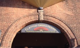 The historic Clayton Opera House