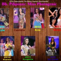 Featuring: The Bb. Pilipinas Photogenic!