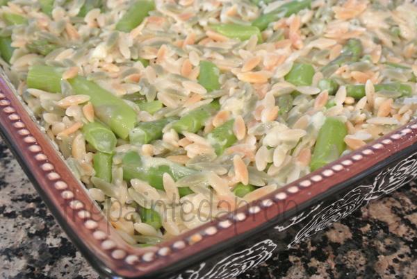 orzo & asparagus2 thepaintedapron.com