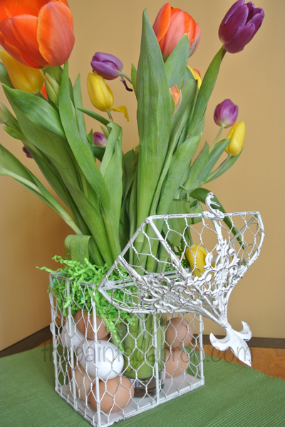 tulips & eggs 3 thepaintedapron.com