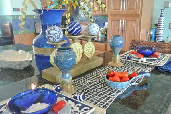 beach blue for 2 table3 thepaintedapron.com