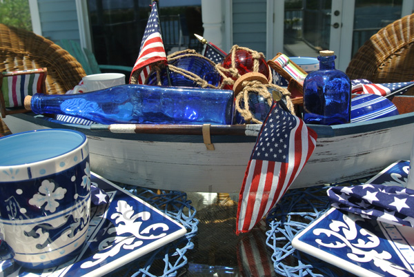 boat centerpiece 2 thepaintedapron.com