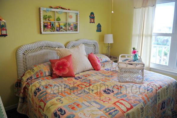 caribbean soul bedroom 1 thepaintedapron.com