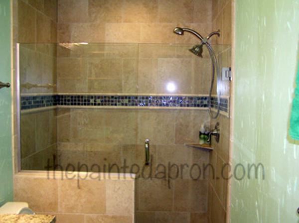 guest bath shower view