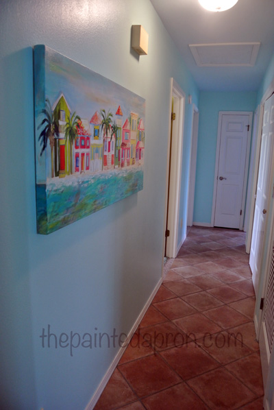 hallway thepaintedapron.com