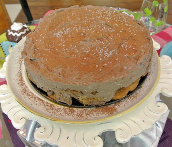 kahlua icebox cake thepaintedapron.com