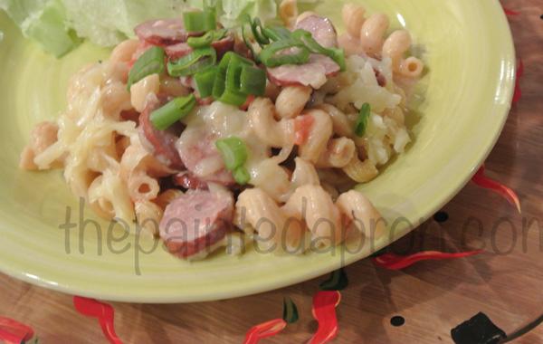 sausage pasta thepaintedapron.com