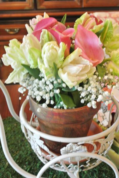 tulip basket thepaintedapron.com