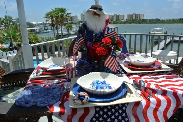 beach boy tablescape thepaintedapron.com