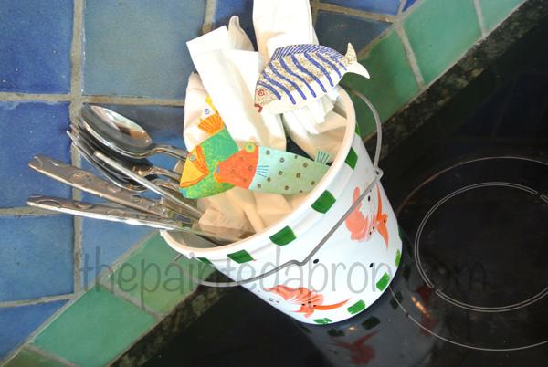 shrimp bucket thepaintedapron.com