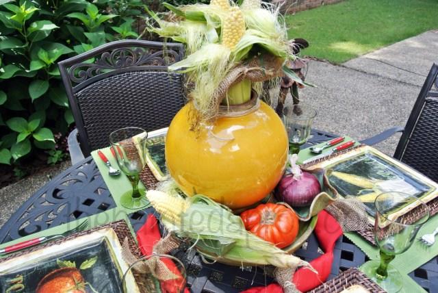 vegetable garden table 1 thepaintedapron.com