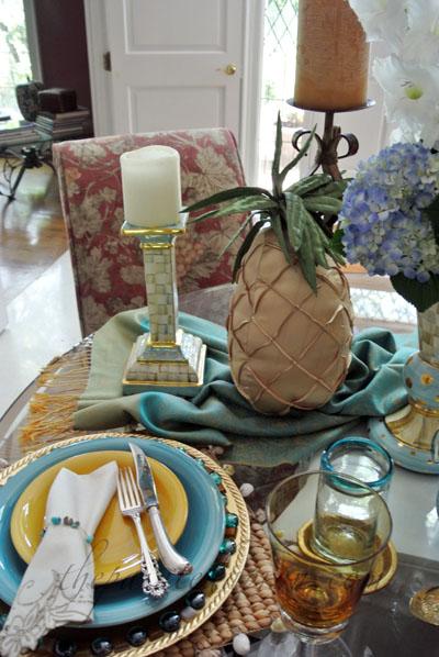 Moroccan table 4 thepaintedapron.com