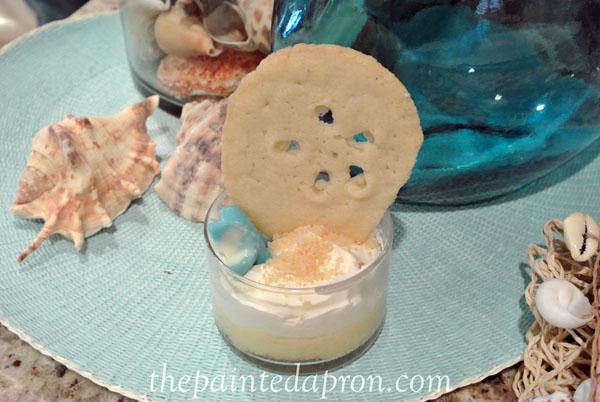 sand dollar dessert 12 thepaintedapron.com