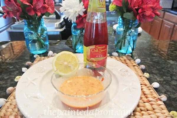 sweet chili aoil thepaintedapron.com