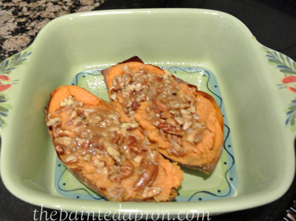 twice baked sweet potatoes 1 thepaintedapron.com
