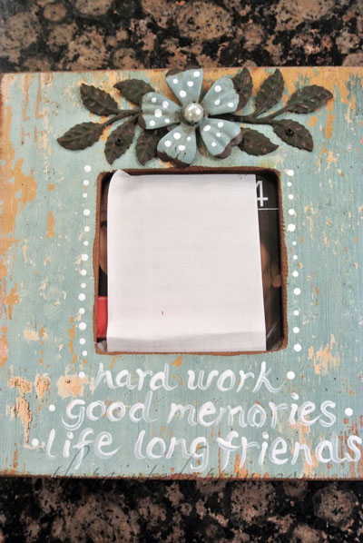 painted frame thepaintedapron.com