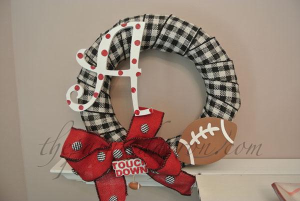 Alabama wreath thepaintedapron.com