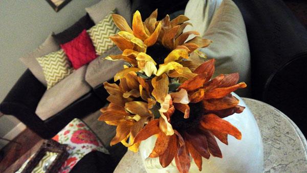 paper sunflowers thepaintedapron.com