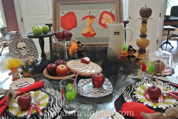 snow white table 7 thepaintedapron.com
