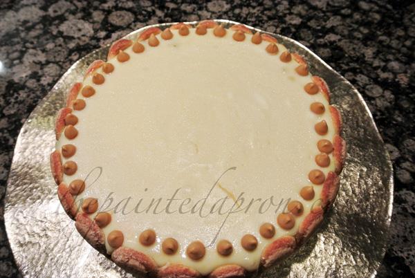butterscotch cheesecake thepaintedapron.com