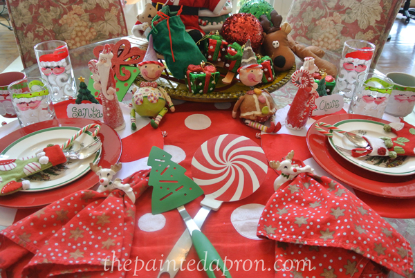 Breakfast with santa thepaintedapron.com