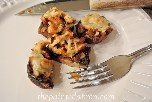 french onion mushrooms thepainted apron.com