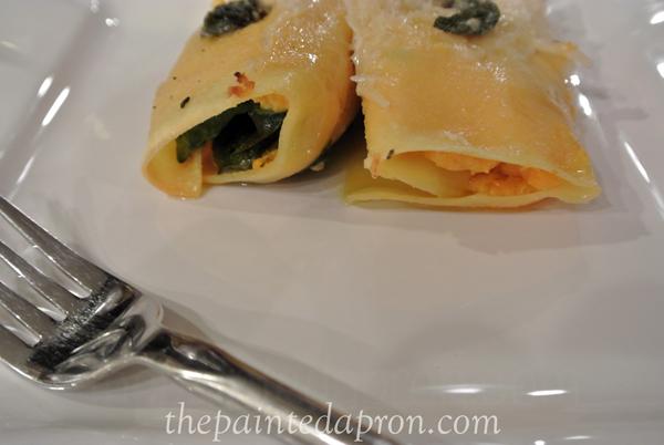 fresh pasta cannelloni thepaintedapron.com