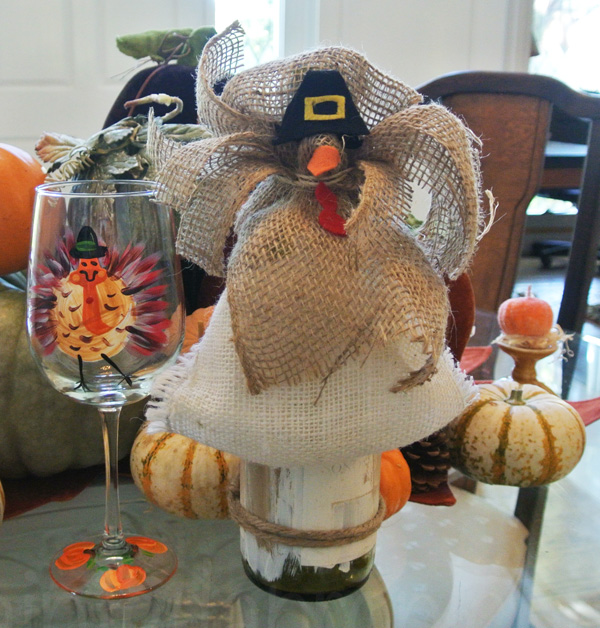 wine bottle turkey thepaintedapron.com