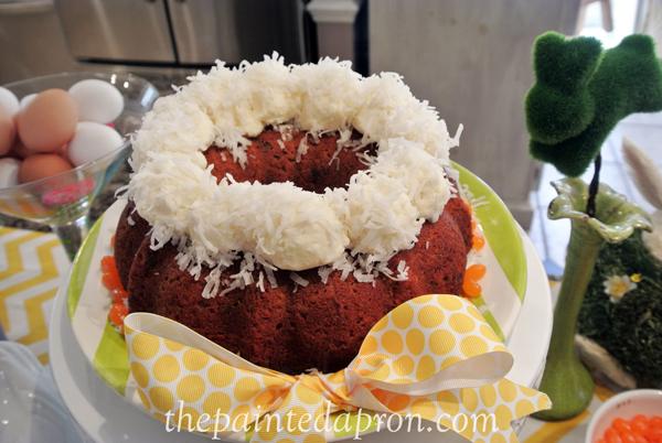 cotton tail cake thepaintedapron.com