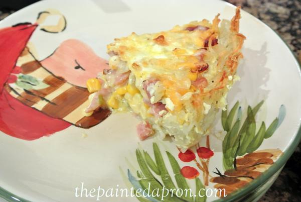 ham and potato casserole thepaintedapron.com