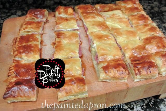Italian puff pastry bites thepaintedapron.com