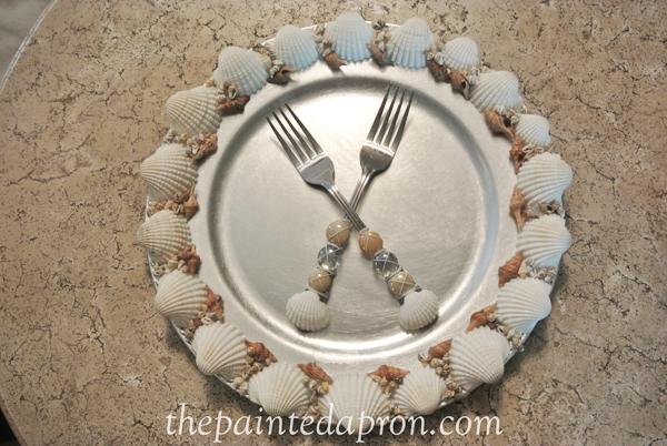 seahell flatware thepaintedapron.com