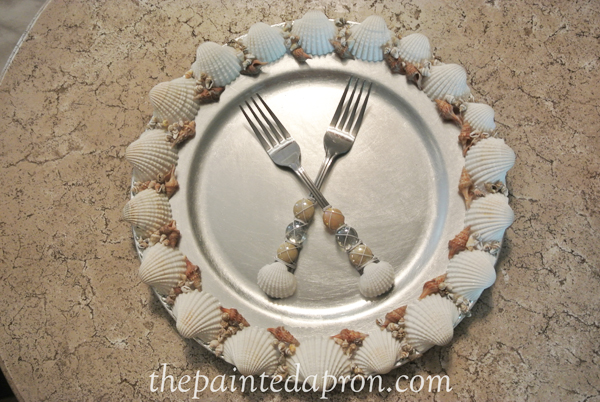 seahell flatware thepaintedapron.com