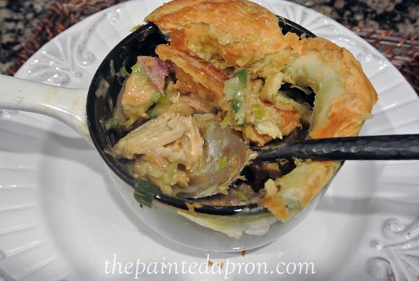 chicken and green bean casserole pot pie 3 thepaintedapron.com