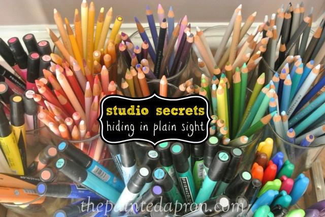 studio secrets thepaintedapron.com