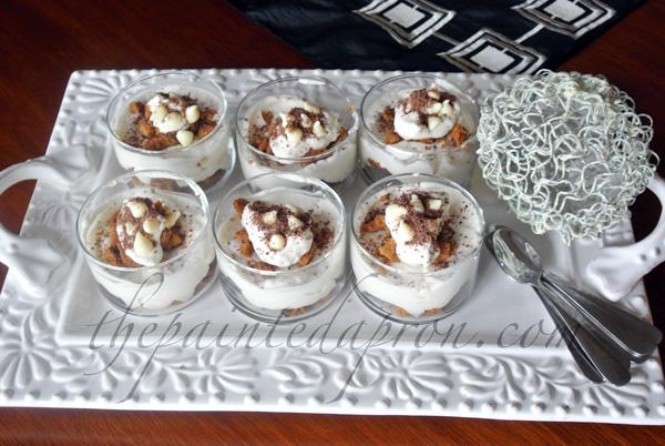 cookies and cream parfaits thepaintedapron.com