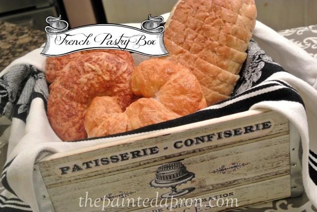 pastry box thepaintedapron.com