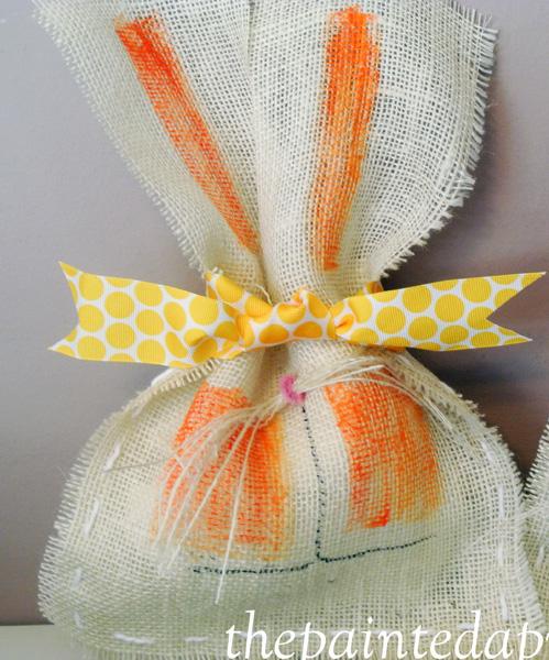 orange bunny thepaintedapron.com
