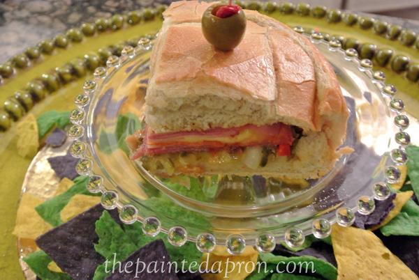 sandwich pie thepaintedapron.com