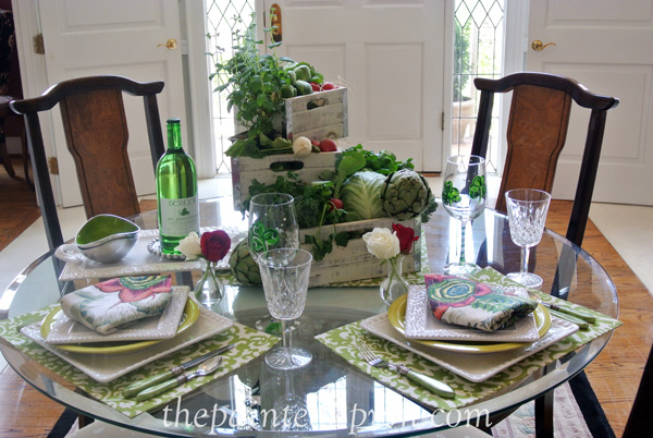 spring table thepaintedapron.com