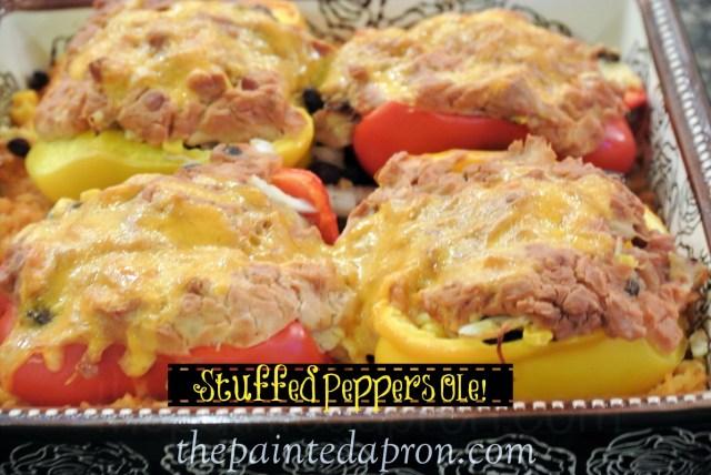 stuffed peppers ole thepaintedapron.com