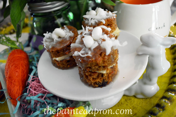 carrot cakes thepaintedapron.com